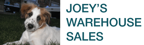Joey's Warehouse Sales Logo